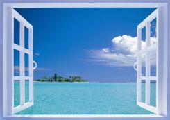 海の見える窓