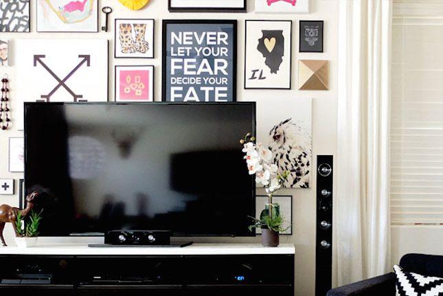 アートフレーム×テレビ