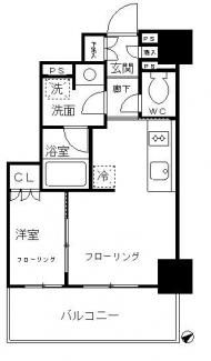 畳の数で部屋の広さの目安を表示