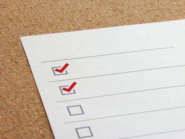 お掃除リストを作って、効率よく大掃除!