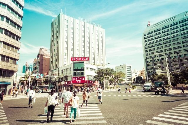 沖縄の中心地、県庁前エリアへの移住もアリ
