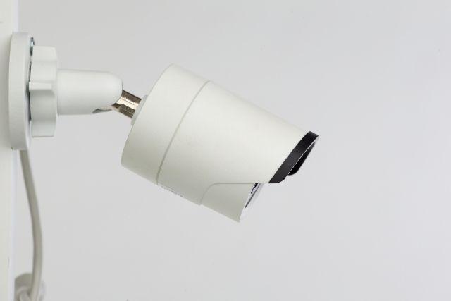 防犯カメラを設置する