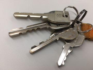 賃貸アパートの鍵