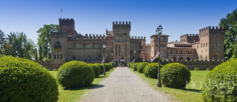 イタリアのロンバルンディアにあるお城