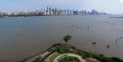 ドローンで見るニューヨークの景色