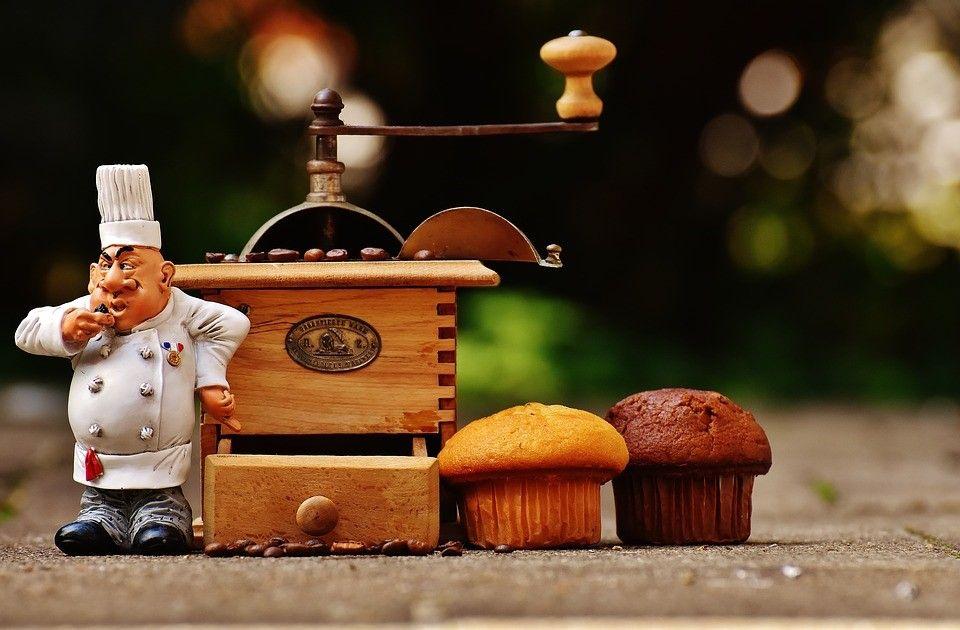 珈琲を焙煎するイメージ