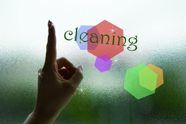 天窓の掃除方法
