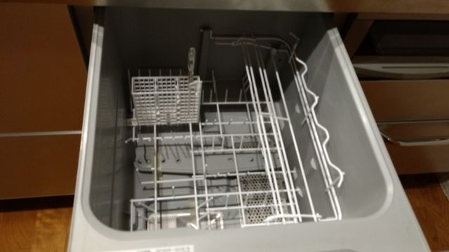 ビルトインタイプの食洗機