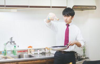 一人暮らしの料理男子