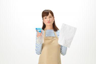 掃除が面倒な主婦