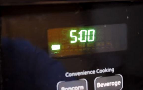 5分間温めれば完成
