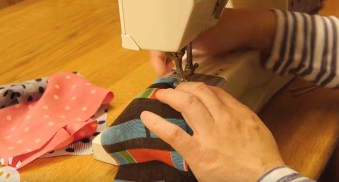 ミシンでの縫い方