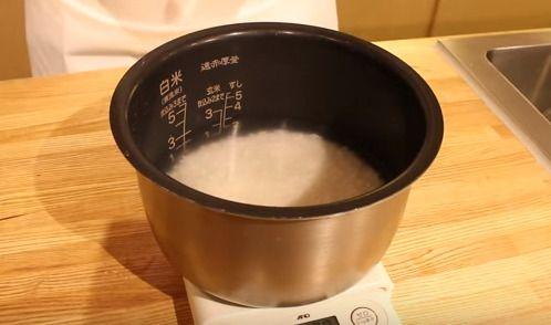 仕上げの炊飯器
