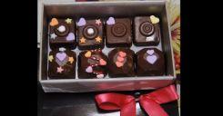 バレンタインのかわいいチョコ