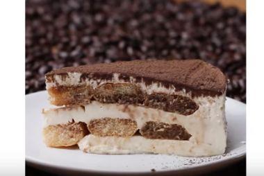 ティラミスチーズケーキの簡単作り方