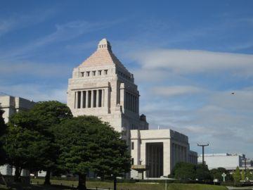 千代田区にある国会議事堂