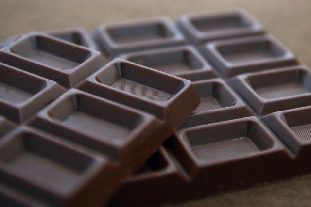 カレーに隠し味 チョコレート