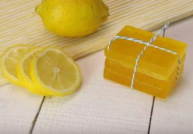 レモンソープの作り方