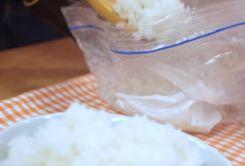 ジップロックでお米を炊く