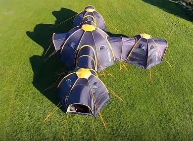PODのテント
