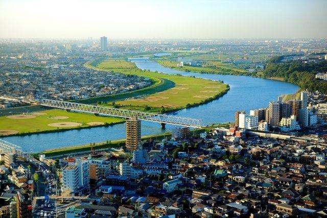 千葉県市川市の風景