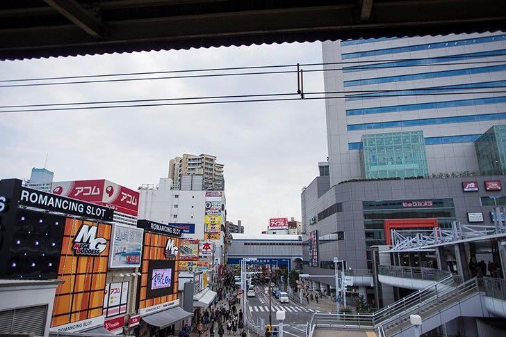千葉県船橋市の風景