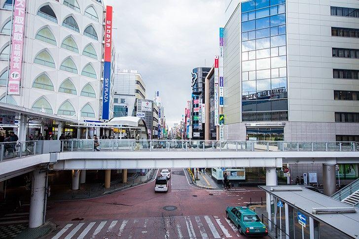 千葉県柏市の風景