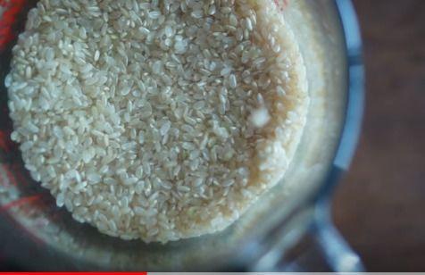 玄米を発芽させる