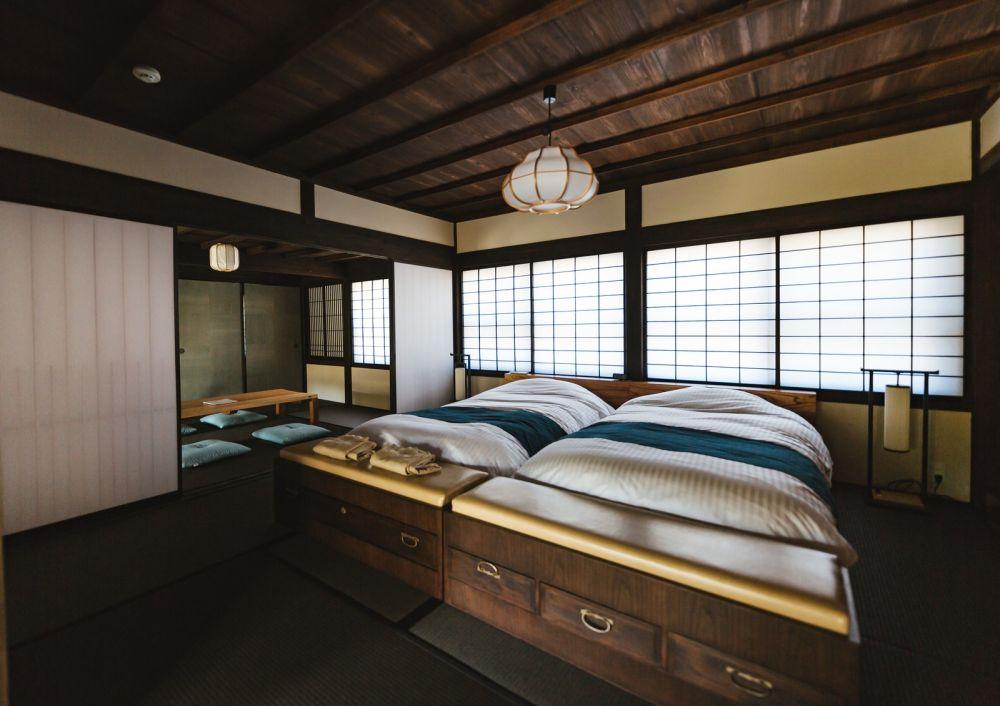 枕の向きに関係する寝室