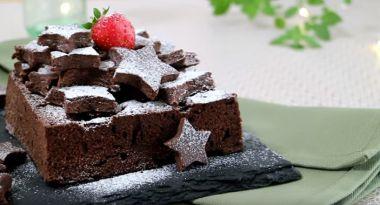 電子レンジで簡単に作れるチョコレートケーキ
