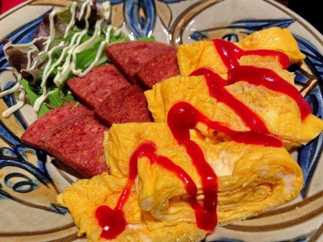 沖縄料理の定番 ポーク玉子