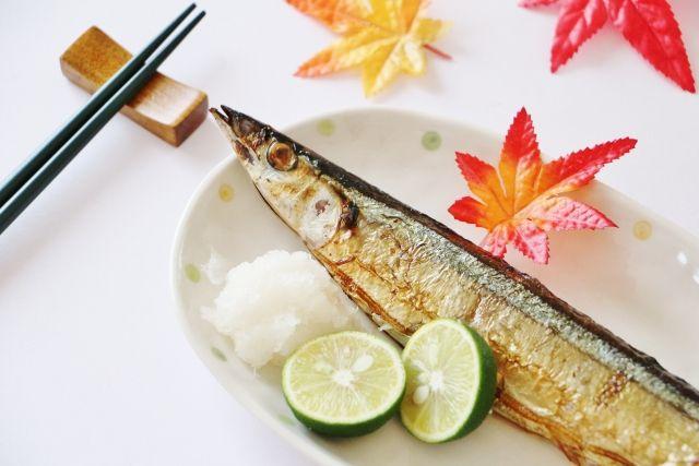 食べ合わせが良い焼き魚と大根おろし