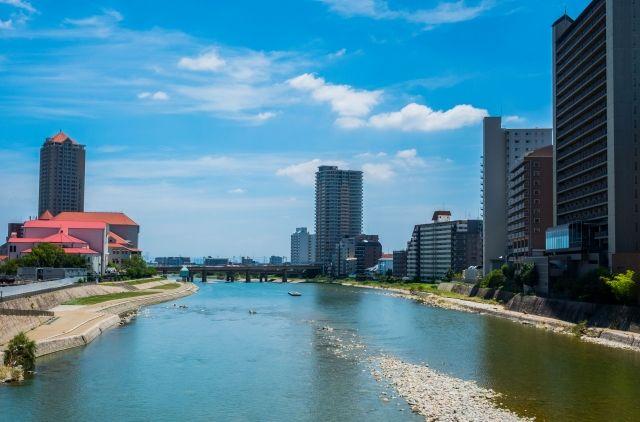 兵庫県宝塚市の風景
