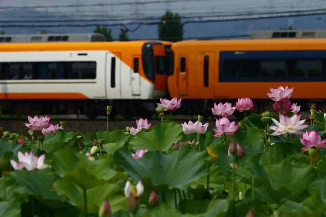 京都府城陽市を通過する電車
