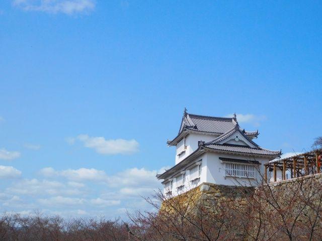 津山市の津山城