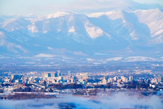 北海道帯広市の風景