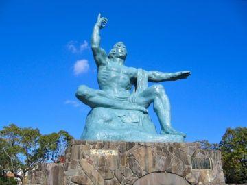 長崎市の平和祈念像
