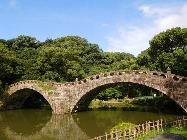長崎県諫早市にある眼鏡橋