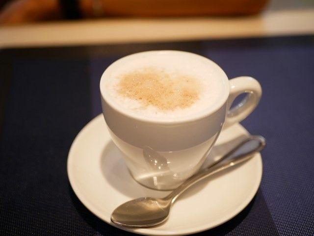 コーヒーの定番 カプチーノ