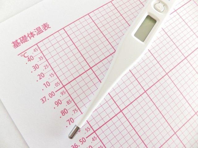 妊活に必要な基礎体温表