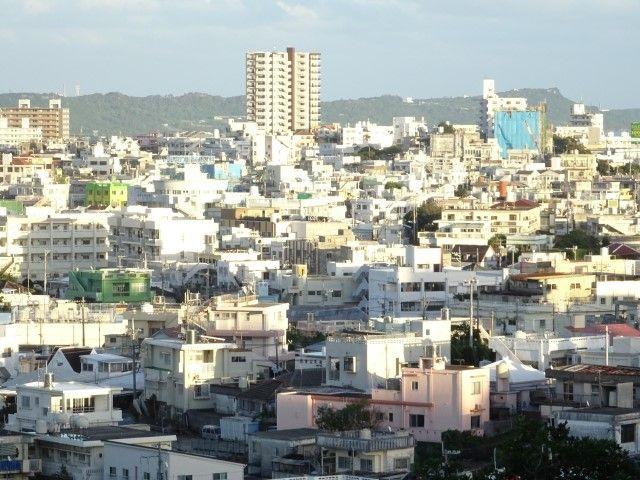 沖縄市の風景