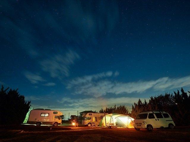 冬のキャンプ①