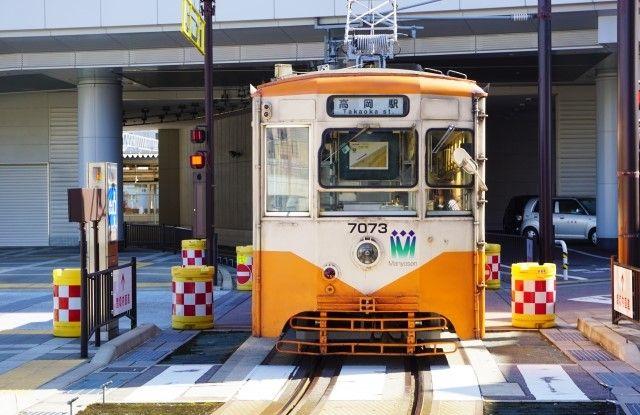 富山市路面電車②