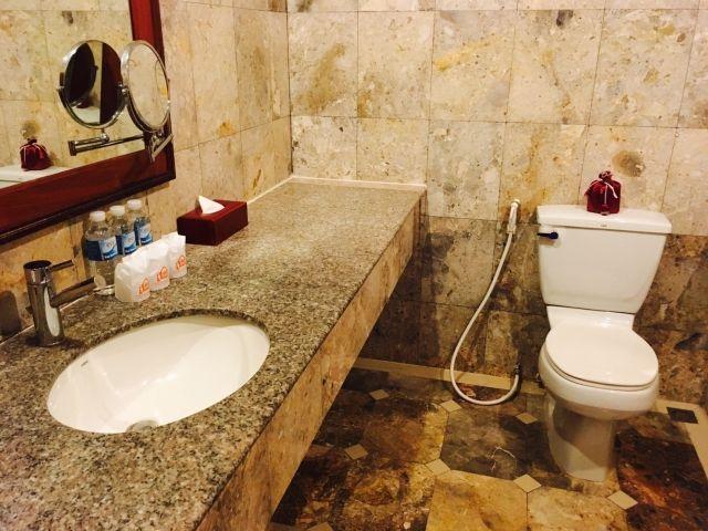 トイレの鏡を変えてみる