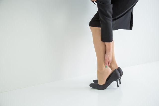 足が疲れる靴に見られる共通点
