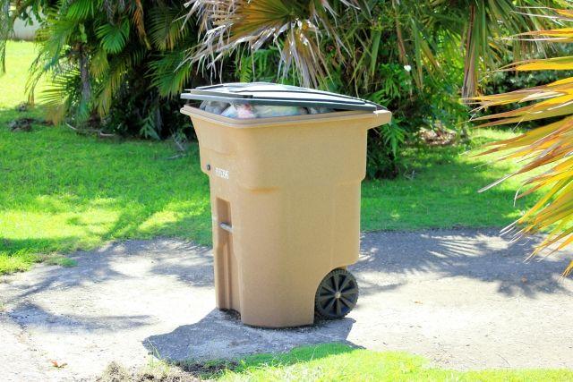最新型のゴミ箱