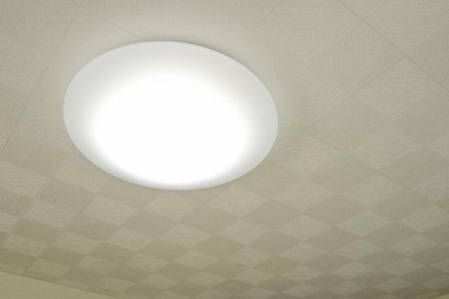 LED電球を使った寝室の照明