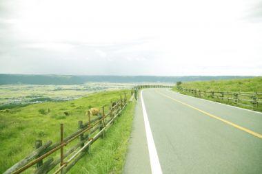 熊本の大自然の風景
