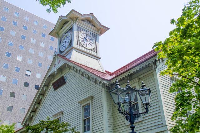 札幌の魅力 時計台