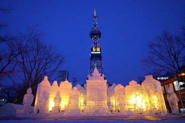 札幌の魅力 氷祭り